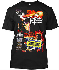 Kiss Meets the Phantom Poster Black T-Shirt Large - New