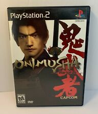 Onimusha: Warlords (Capcom, Sony Playstation 2) Tested Complete