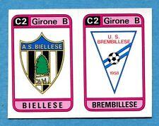 CALCIATORI PANINI 1983-84 Figurina-Sticker n. 560 -BIELLESE#BREMB..SCUDETTO-New