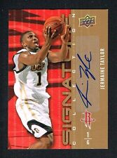 Jermaine Taylor 2009 Upper Deck Signature Collection signed autograph auto Card