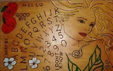 "hand made wooden ouija spirit talking board ""Goddess"""