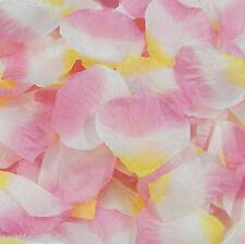 Silk Rose Petals Wedding Flower Bridal Girl's Basket Decoration Party 40 Colors