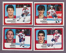 1988-89 Panini NHL Hockey Sticker Craig Ludwig #254 Montreal Canadiens
