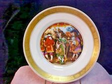 "Royal Copenhagen The Hans Christian Andersen Plates ""The Emperor's New Clothes"""
