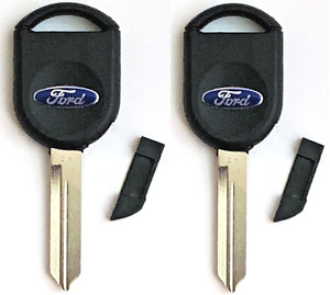 X2 Ford Key Shell W Chip insert H84 H92 S SA Top Quality USA Seller