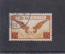 SWITZERLAND-1929-35c AIRMAIL-SG 320-FINE USED-$20