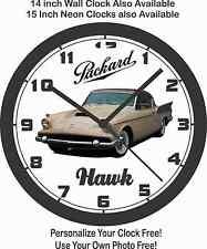 1958 PACKARD HAWK WALL CLOCK, Studebaker, Kaiser, Ford