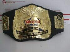 WWE WWF Classic Tag Team World Heavyweight Champion Title Belt Jakks Foam Kids