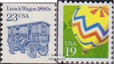 USA 2126,2134 (kompl.Ausg.) postfrisch 1991 Fahrzeuge, Ballon