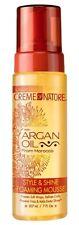 Creme Of Nature Style & Shine FOAMING MOUSSE ARGAN OIL Soft Wrap Defines CURLS
