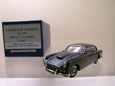 CONQUEST MODELS No.104 A.C. GREYHOUND COUPE 1960 BLUE MET. HAND-BUILT SCALE1:43
