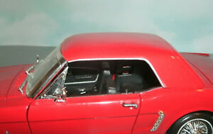 1/18 Scale 1964 Ford Mustang Removable Hard Top Roof - Plastic MotorMax Part