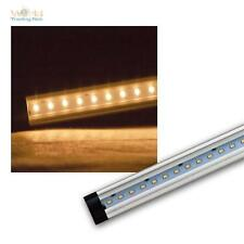 SMD LED Unterbauleuchte 50cm warmweiß 410lm, Alu Lichtleiste 12V, Leiste Leuchte