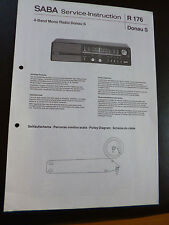 Original Service Manual  SABA  Donau S