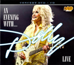AN EVENING WITH DOLLY LIVE (UK) - NM Dolly Parton CD & DVD - Cracker Barrel