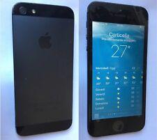 iPhone 5 con Batteria Nuova e Pellicola Sul Display . Ottimo! Very Good!
