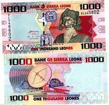 SIERRA LEONE billet de 1000 LEONES NEUF/UNC