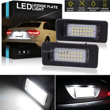 Error Free LED License Plate Light Lamp For Volkswagen Jetta Passat Audi A4 Q5