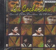 Los Cachorros de Juan Villareal Con El Exito monton de Cartas CD New Sealed