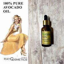 EU Grade, 100% PURE Natural Avocado Oil, Carrier for massage Aromatherapy 30 ml