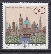 Germany 1621 MNH 1991 Hanover 750th Anniversary Issue Very Fine