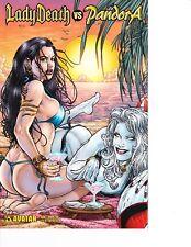 Lady Death vs Pandora #1 Bikini Fun Variant! Rare! FREE SHIPPING AVAILABLE!