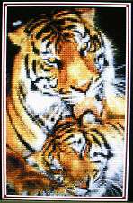 MOTHER'S LOVE (TIGERS) ~ Counted Cross Stitch KIT #K807