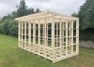 Garden Office Shed Studio Pod Frame - DIY Self Build Kit - 4.2m x 2.2m