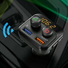 More details for bluetooth fm transmitter wireless in car radio mp3 player usb charger handsfree
