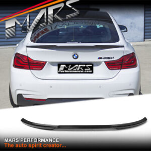 M4 Style Carbon trunk boot lip Spoiler for BMW 4-Series F36 Grand Coupe Bodykit