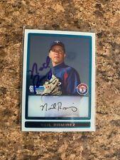 Neil Ramirez Signed 2009 Bowman Chrome Rc Auto Texas Rangers Cubs Mets