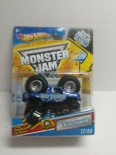Hot Wheels Monster Jam   BLUE THUNDER RARE Travel Treads