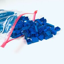 Lego Bulk 1 Pound Bag All Blue Bricks Vintage 80s 90s Parts Pieces No Mini Figs