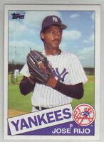 1985 Topps Baseball New York Yankees Team Set