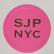 Carte à parfumer   - perfume card  -  Jessica Parker