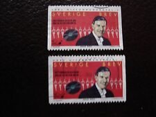 SUEDE - timbre yvert et tellier n° 2062 x2 obl (A29) stamp sweden (Z)
