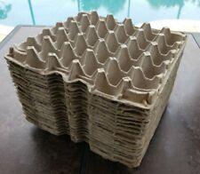 20 Pcs Egg Cartons Paper Trays Flats Hatching 30 Ct Eggs Crafts Bulk Lot