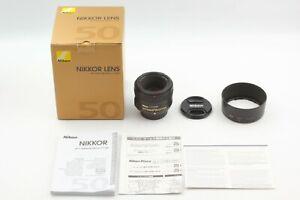 """Near Mint in BOX"" Nikon NIKKOR AF-S 50mm f/1.8 Lens From JAPAN"