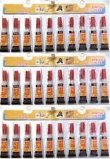 30 Tubes of  Super Glue - 'Cyanoacrylate Adhesive'  FREE SHIPPING USA SELLER