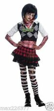 New Girl Zombie Punk Rocker Halloween Costume Medium fits 5 - 7 years