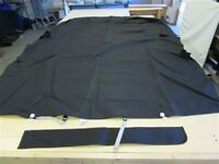 """CROWNLINE 185 BOW RIDER COCKPIT COVER 110309905 BLACK N/S 122"""" X 94 1/2"""" BOAT"""