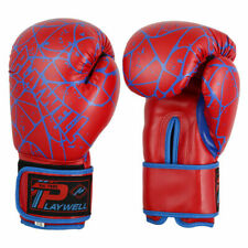 Martial Arts Childrens Spider Red Boxing Gloves Junior Kids Sparring Punch