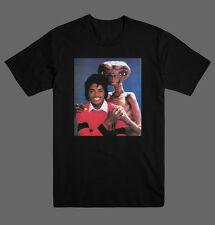 Michael Jackson & E.T Retro Vintage 80's Movies T Shirt