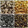 Double Cap Tubular Rivets in 10mm Two Piece Leather Punk Craft Repair 100pcs