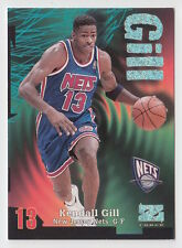1997/98 SKYBOX Z FORCE KENDALL GILL NEW JERSEY NETS RAVE 54/399 CARD #16