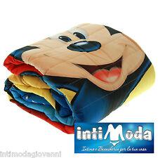 Trapuntino Disney Topolino copriletto trapuntato 180x260cm primaverile estivo
