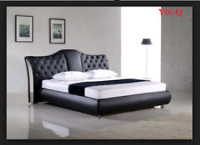 ITALIAN DESIGN Queen SIZE 2017 model Y16-Q PU LEATHER BED FRAME