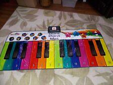 Kidzlane Floor Piano Mat: Jumbo 6 Foot Musical Keyboard Playmat for Toddlers and