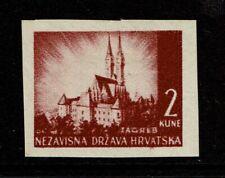 Croatia SC# 36 Imperf Mint Never Hinged - S9615