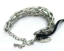 Jasper Conran Silver Tone Graduated Chain Bracelet ZD3